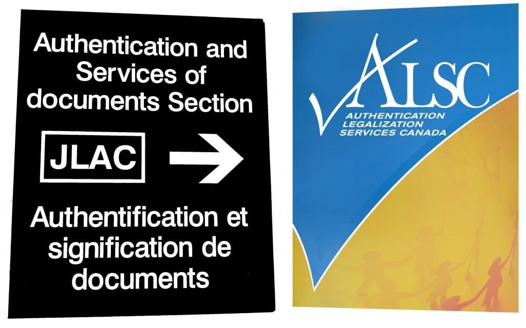 Global Affairs Canada JLAC Apostille Authentication Legalization