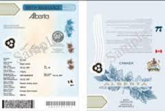 Alberta Birth Certificate Authentication
