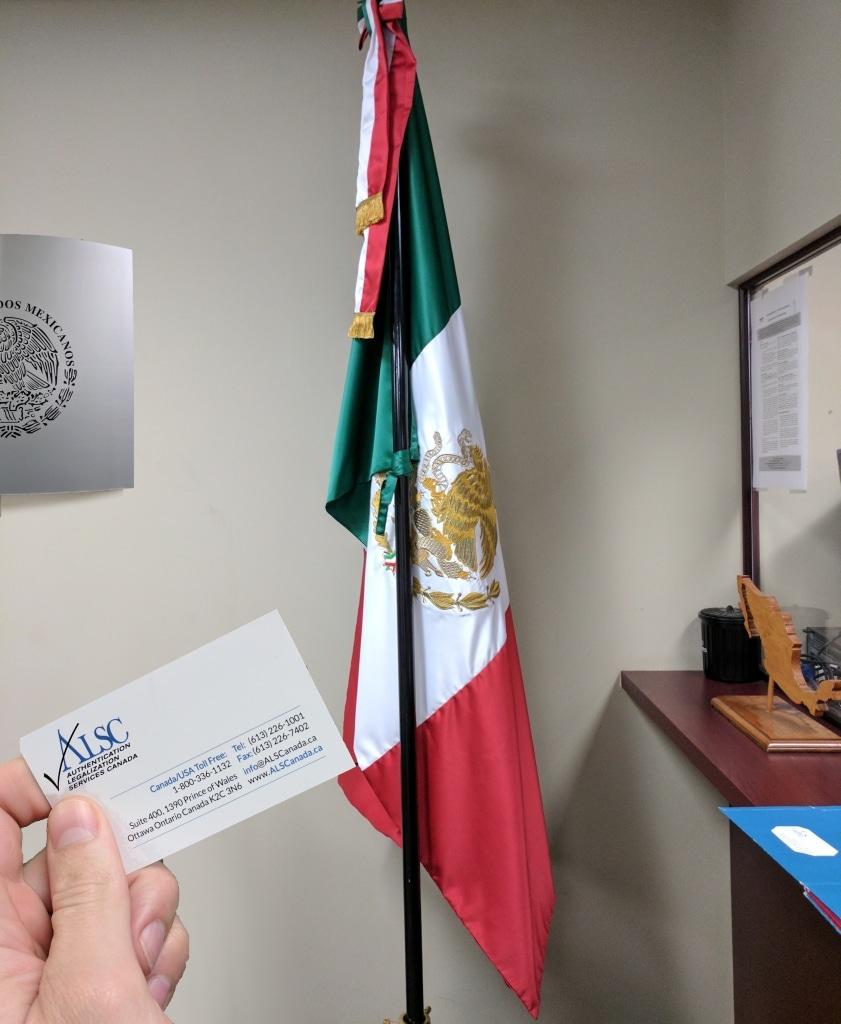 Mexico Apostille Authentication Legalization