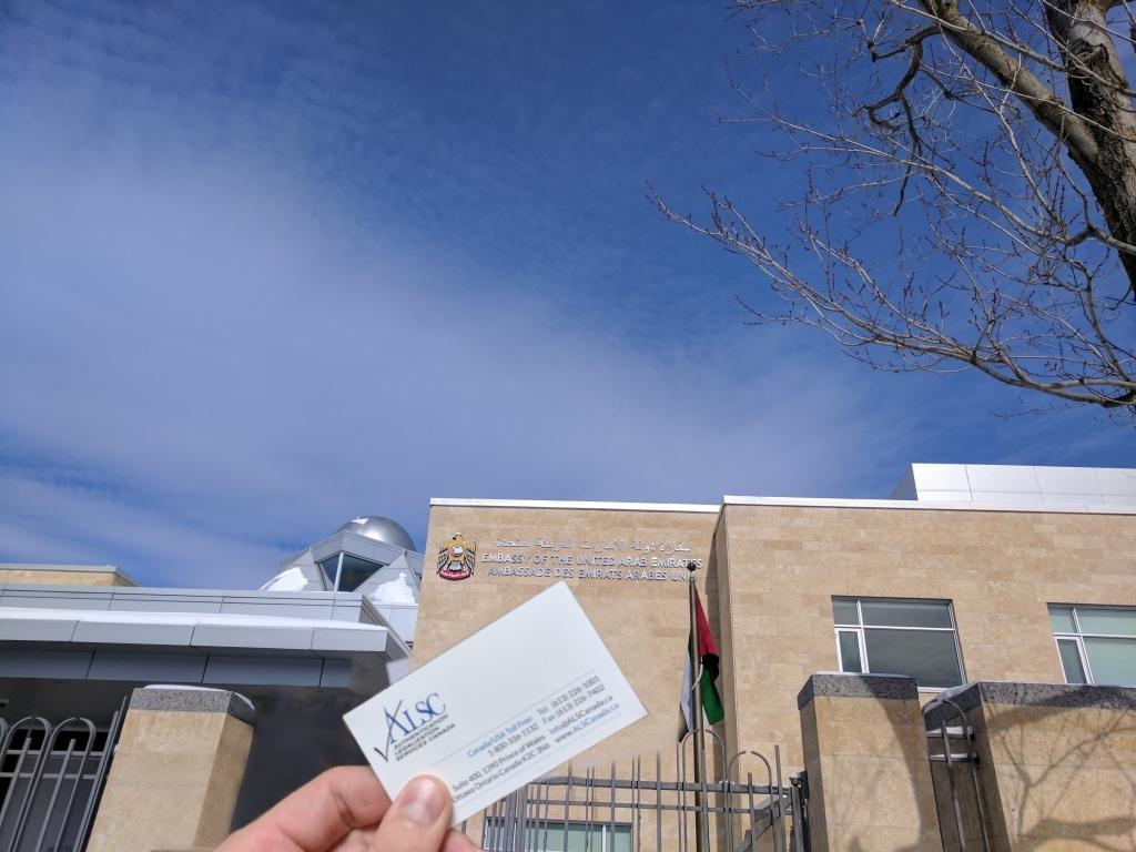 Embassy Legalization Service, re: USA Embassy